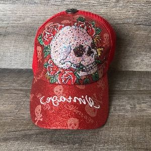 Sugar Skull Embroidered Baseball Cap/Hat NEW